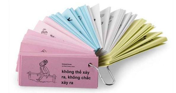 Thẻ học từ vựng - flashcard