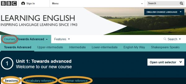 Học trực tuyến cùng BBC Learning English