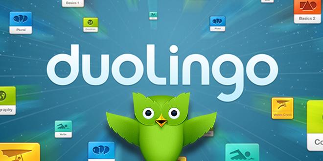 Phần mềm Doulingo giúp cho quá trình học tập trở nên thú vị hơn