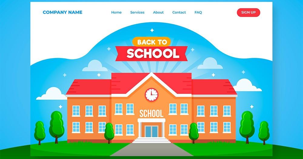 Những lợi ích khi thiết kế website trường học