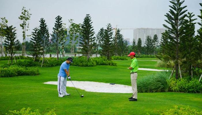 Hệ thống sân tập golf Phú Mỹ Hưng